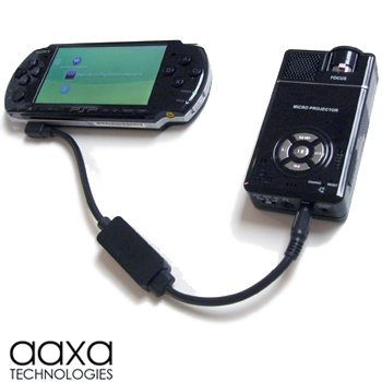 Aaxa P Series M Series Psp A V Cable Lcos Based Hand