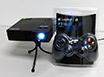 AAXA LED Android Projector: Special Bundle w/ Logitech Controller