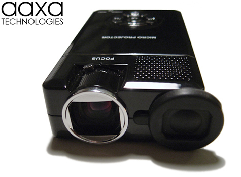 Aaxa p1 jr pico projector hand held lcos pocket for Pico projector accessories