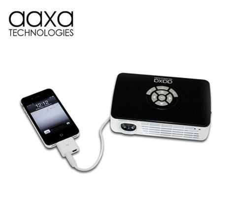 Aaxa P300 Pico Projector Dlp Hand Held Mini Projector