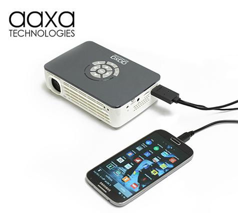 Aaxa Led Pico Projector P300